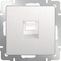 Розетка Werkel Ethernet RJ-45 перламутровый рифленый WL13-RJ-45 4690389124310