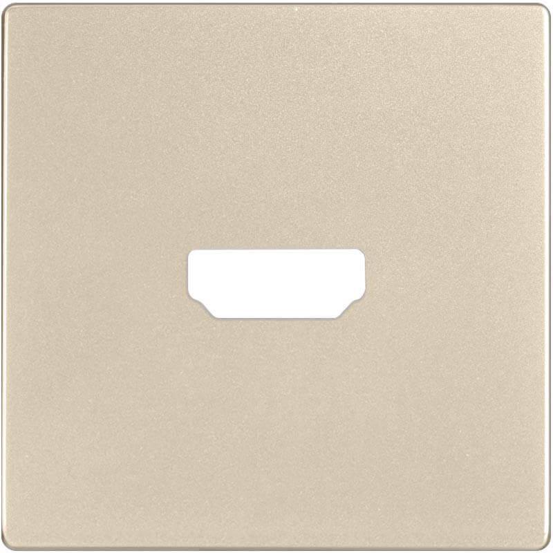 Накладка Werkel для розетки HDMI шампань WL11-HDMI-CP 4690389124518