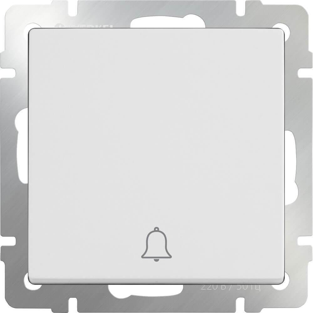 Кнопка звонка Werkel белая WL01-04-01 4690389099809