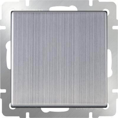 Выключатель Werkel одноклавишный глянцевый никель WL02-SW-1G 4690389045738