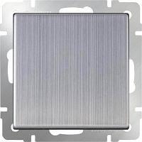 Выключатель Werkel одноклавишный проходной глянцевый никель WL02-SW-1G-2W 4690389045745