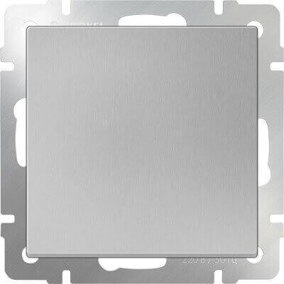 Декоративная заглушка Werkel серебряная WL06-70-11 4690389097454