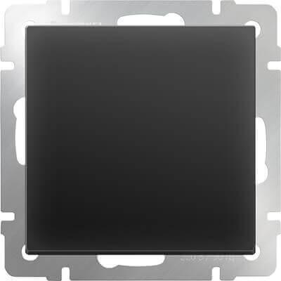 Декоративная заглушка Werkel черная матовая WL08-70-11 4690389097515