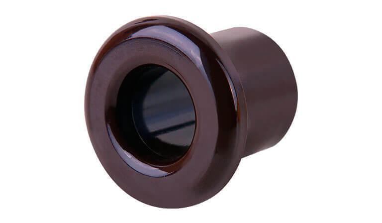 Втулка Werkel для вывода кабеля из стены Retro коричневая WL18-18-01 4690389100697
