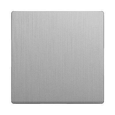 Лицевая панель Werkel выключателя перекрестного cеребряный рифленый WL09-SW-1G-C-CP 4690389100352