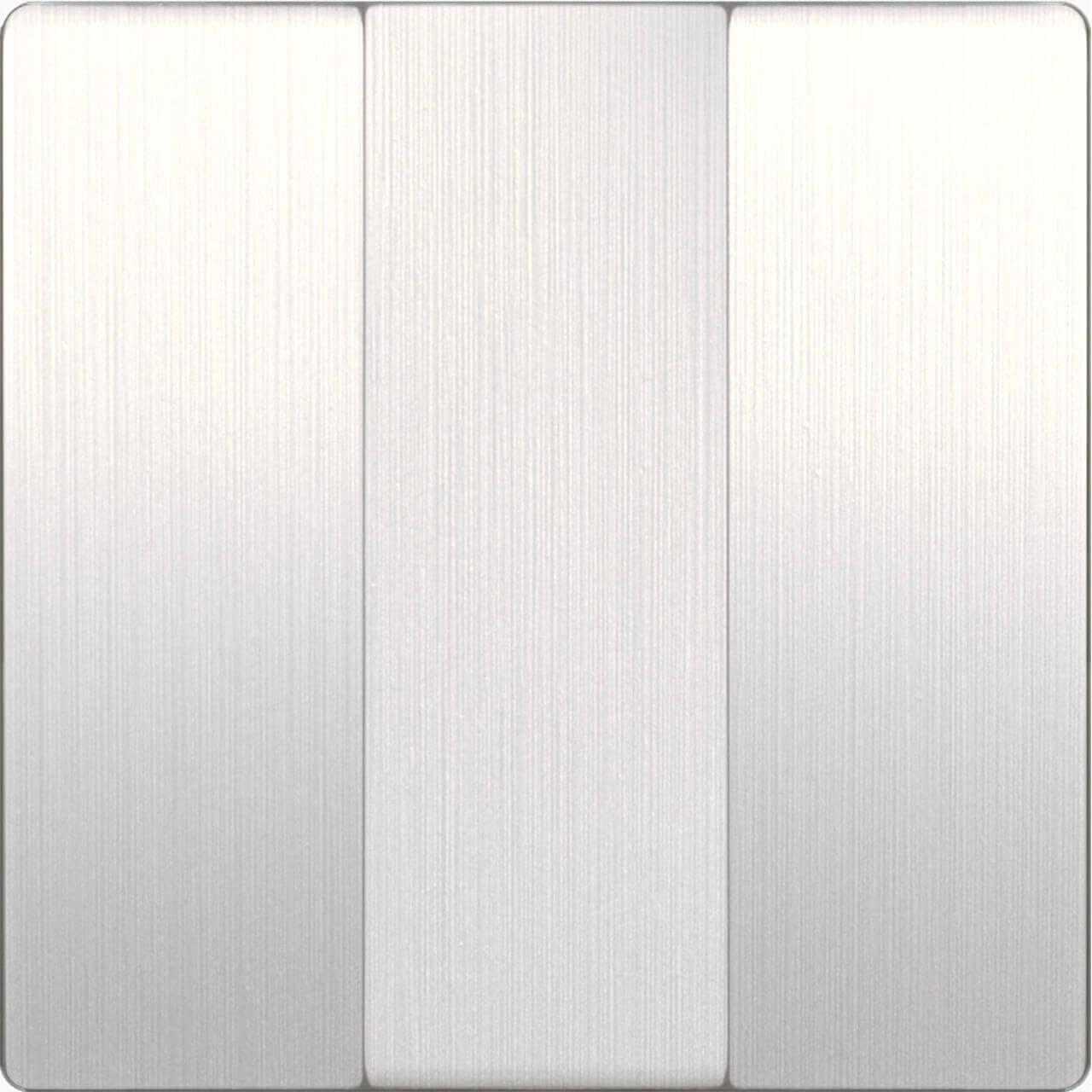 Набор клавиш Werkel для выключателя трехклавишного перламутровый рифленый WL13-SW-3G-CP 4690389124457