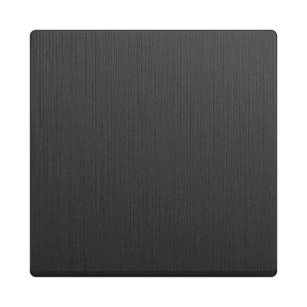 Клавиша Werkel для выключателя перекрестного Графит рифленый WL04-SW-1G-C-CP 4690389145940