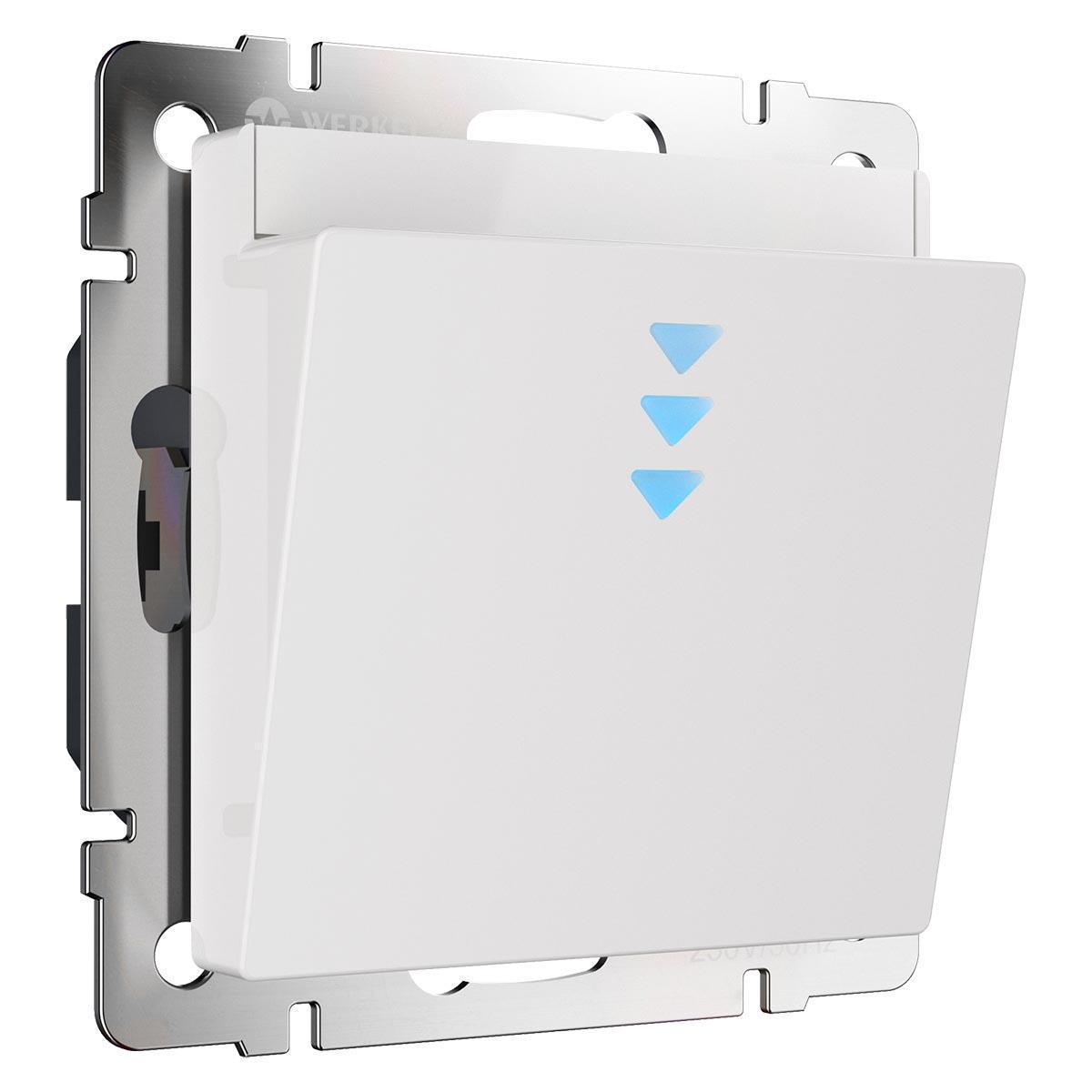 Выключатель карточный Werkel WL01-01-03 белый 4690389143465