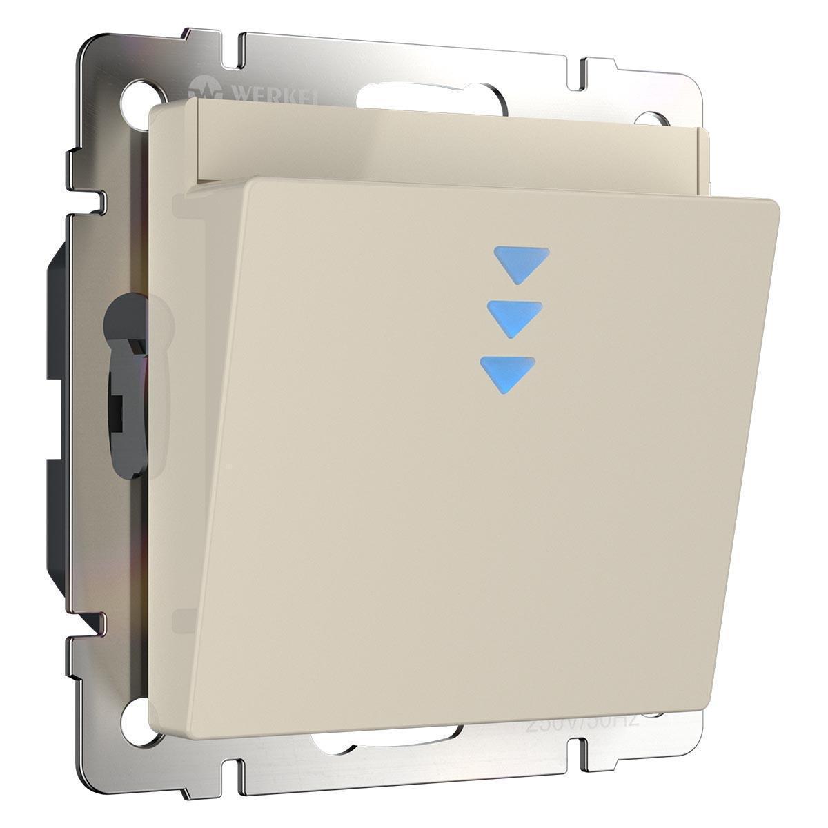 Выключатель карточный Werkel WL03-01-03 слоновая кость 4690389145711