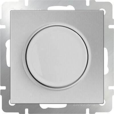 Диммер Werkel серебряный WL06-DM600 4690389053962