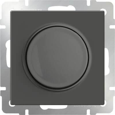 Диммер Werkel серо-коричневый WL07-DM600 4690389054129
