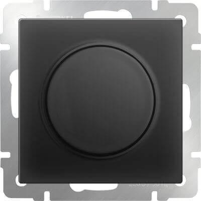 Диммер Werkel черный матовый WL08-DM600 4690389054280
