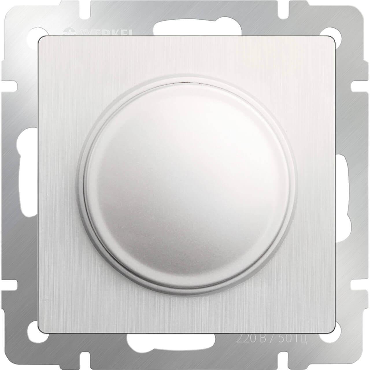 Диммер Werkel перламутровый рифленый WL13-DM600 4690389124280