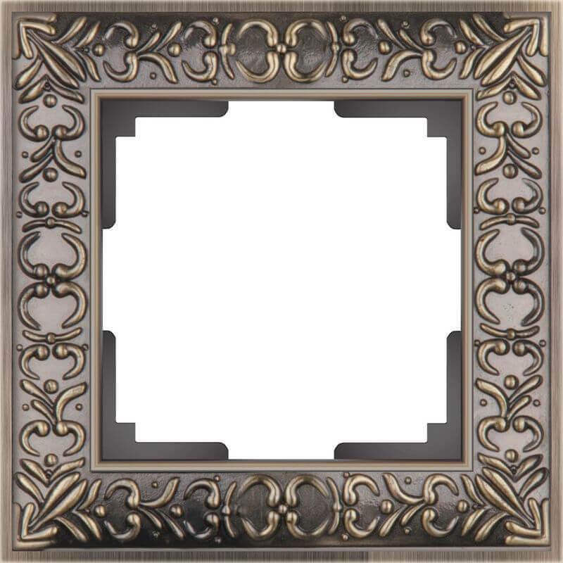 Рамка Werkel Antik на 1 пост бронза WL07-Frame-01 4690389054358