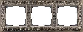 Рамка Werkel Antik на 3 поста бронза WL07-Frame-03 4690389054372