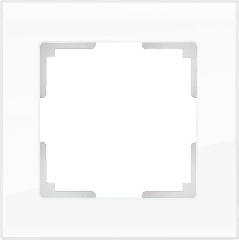 Рамка Werkel Favorit на 1 пост белый WL01-Frame-01 4690389061202