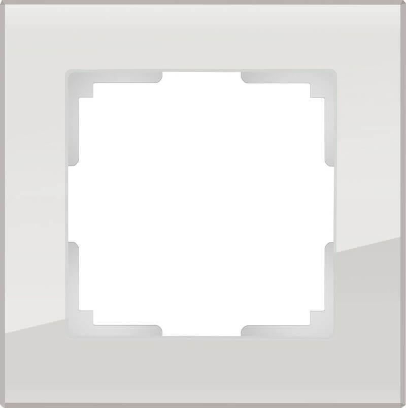 Рамка Werkel Favorit на 1 пост дымчатый WL01-Frame-01 4690389061301