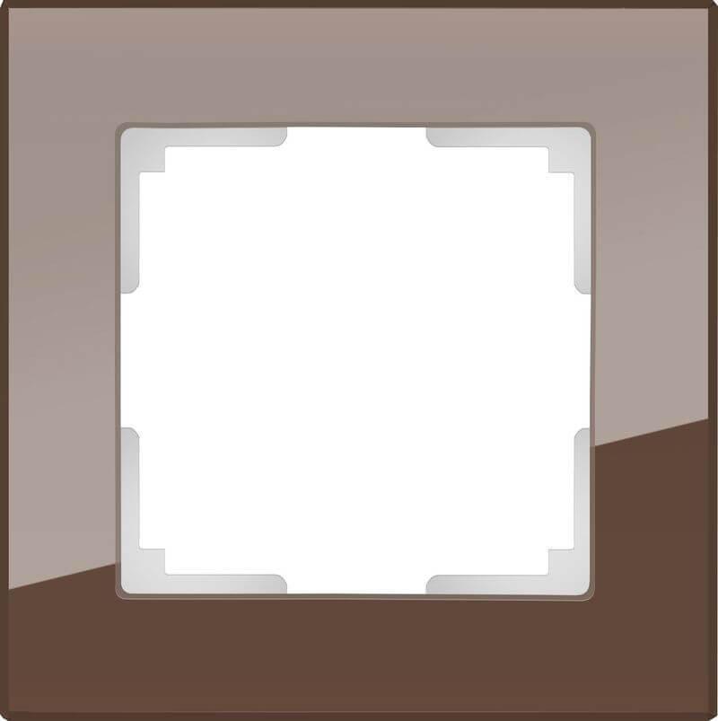 Рамка Werkel Favorit на 1 пост мокко WL01-Frame-01 4690389063749