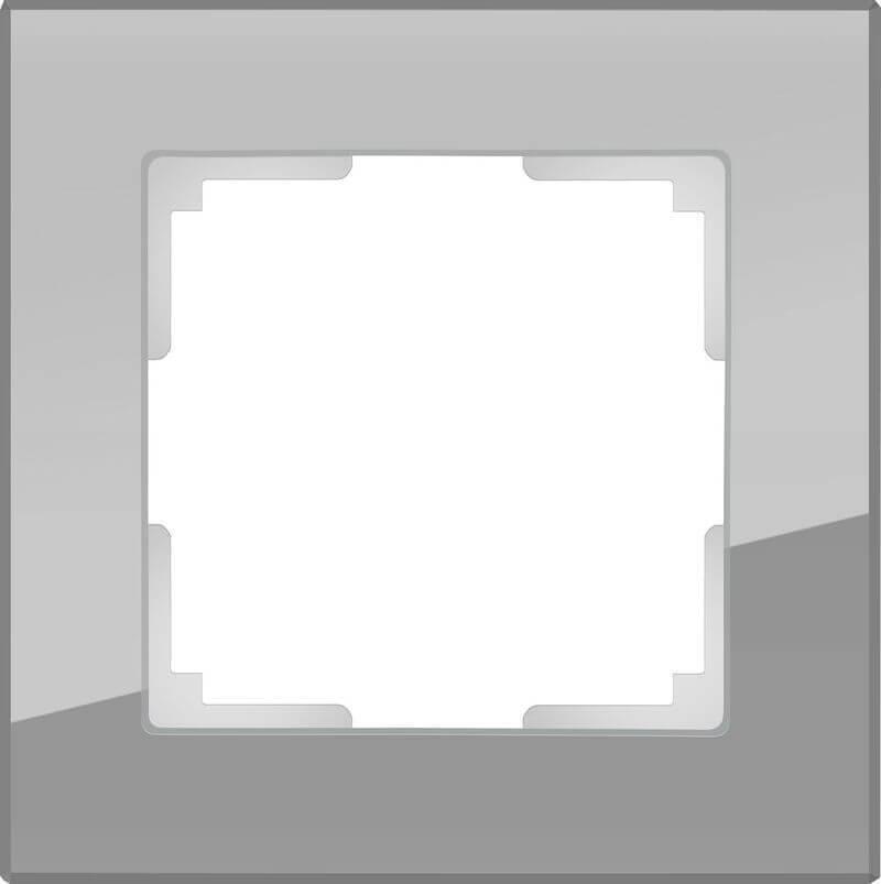 Рамка Werkel Favorit на 1 пост серый WL01-Frame-01 4690389061257