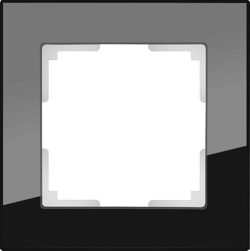 Рамка Werkel Favorit на 1 пост черный WL01-Frame-01 4690389063398