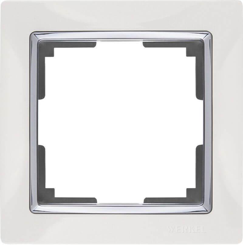 Рамка Werkel Snabb на 1 пост белая WL03-Frame-01-white 4690389046100