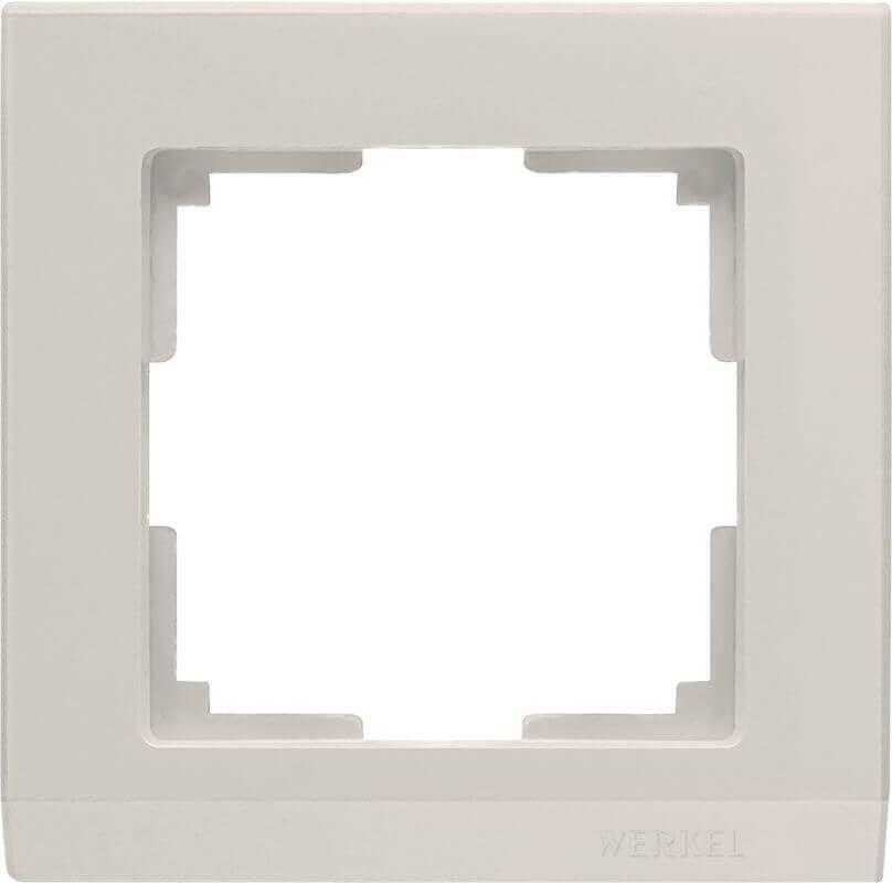 Рамка Werkel Stark на 1 пост слоновая кость WL04-Frame-01-ivory 4690389046506