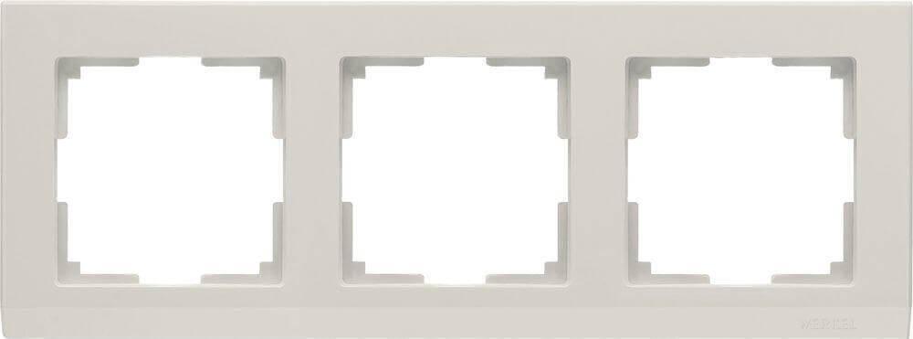 Рамка Werkel Stark на 3 поста слоновая кость WL04-Frame-03-ivory 4690389046520