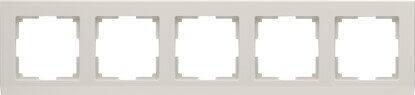 Рамка Werkel Stark на 5 постов слоновая кость WL04-Frame-05-ivory 4690389059360