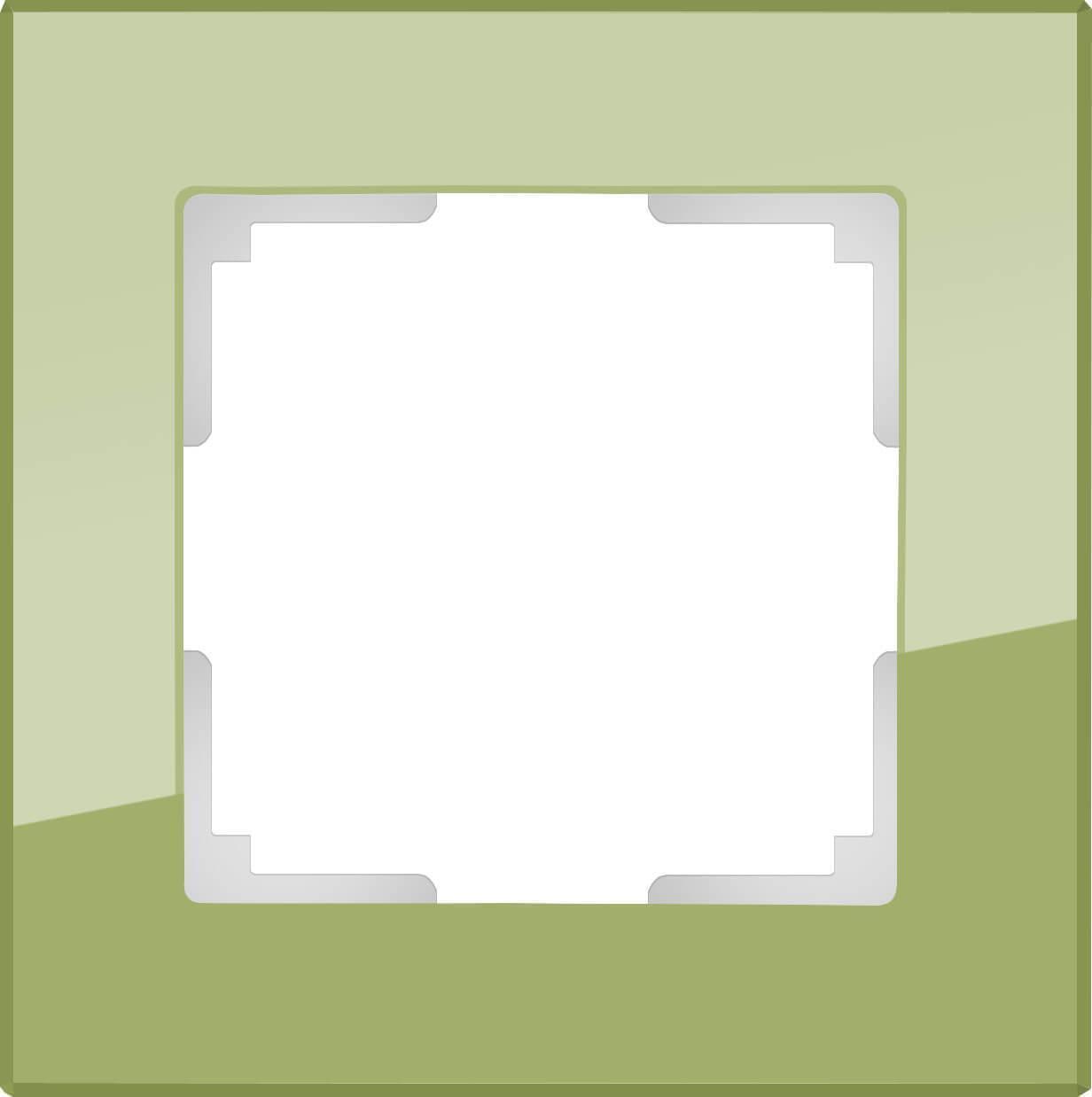 Рамка Werkel Favorit на 1 пост фисташковый WL01-Frame-01 4690389098574