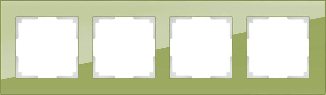 Рамка Werkel Favorit на 4 поста фисташковый WL01-Frame-04 4690389098666