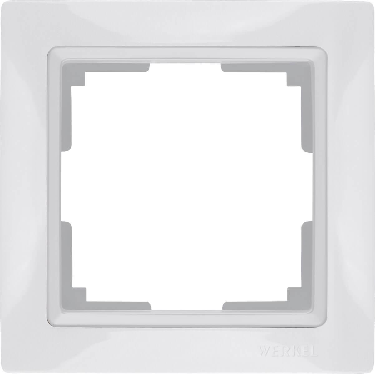 Рамка Werkel Snabb Basic на 1 пост белый WL03-Frame-01 4690389098710