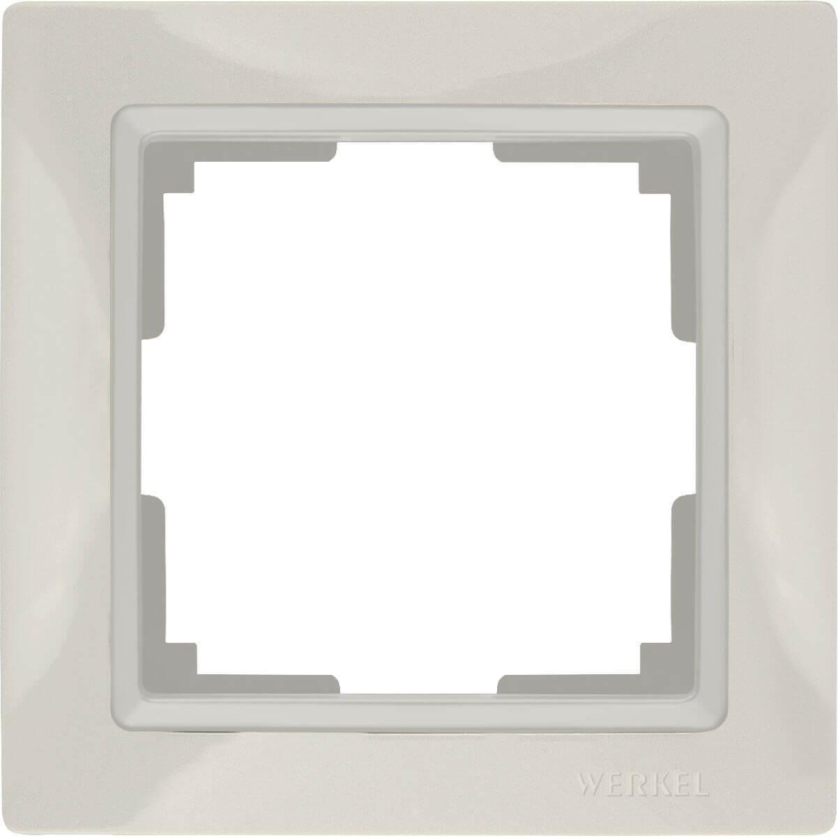 Рамка Werkel Snabb Basic на 1 пост слоновая кость WL03-Frame-01 4690389098703
