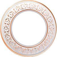 Рамка Werkel Antik Runda на 1 пост белое золото WL70-frame-01 4690389106477