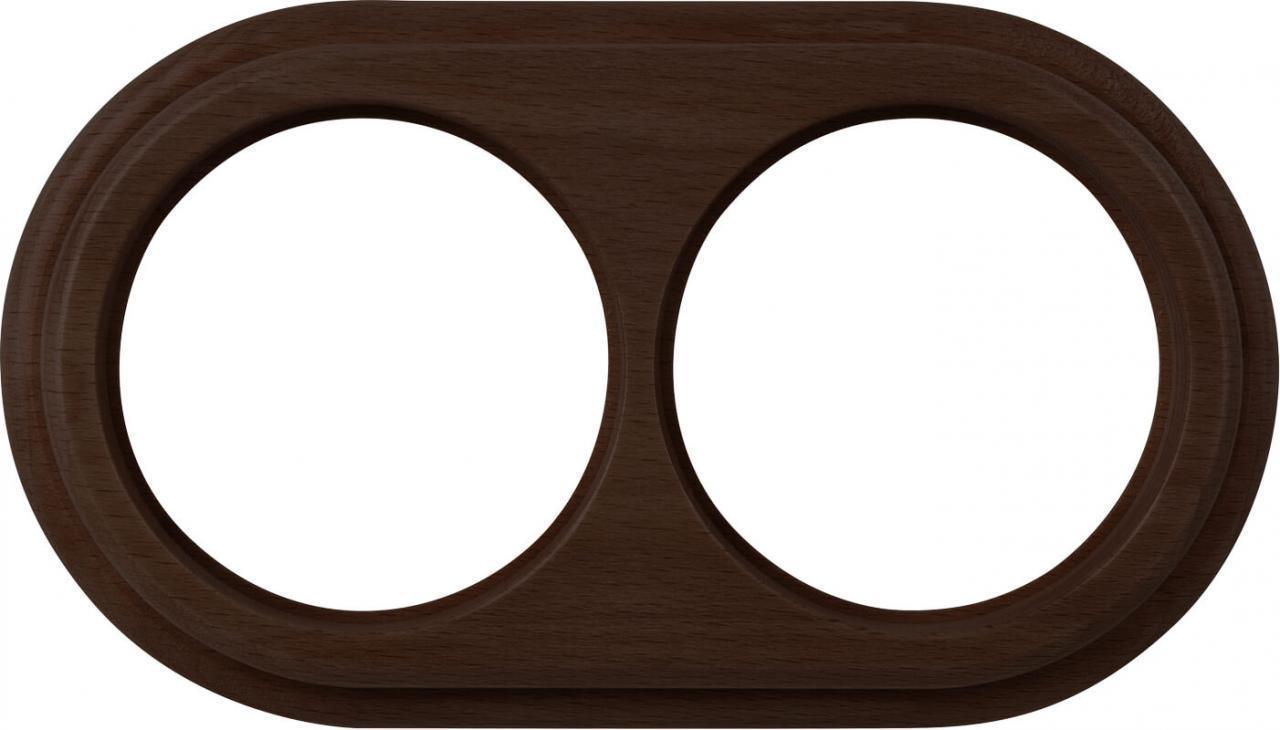 Рамка Werkel Legend на 2 поста венге WL15-frame-02 4690389100925