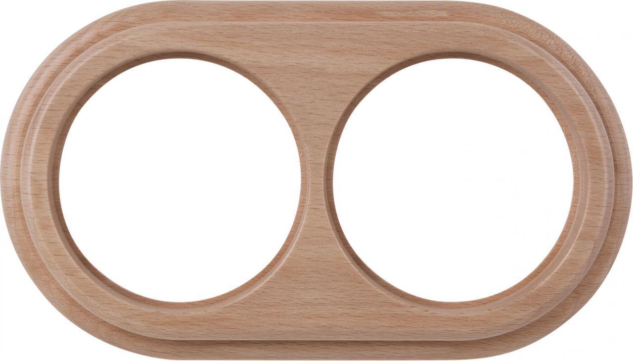 Рамка Werkel Legend на 2 поста светлый бук WL15-frame-02 4690389100932