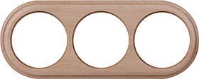 Рамка Werkel Legend на 3 поста светлый бук WL15-frame-03 4690389100963
