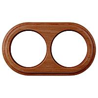 Рамка Werkel Legend на 2 поста итальянский орех WL15-frame-02 4690389100949