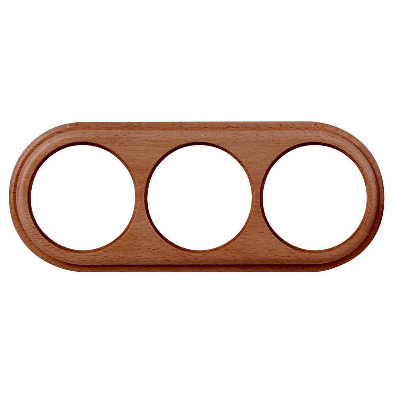 Рамка Werkel Legend на 3 поста итальянский орех WL15-frame-03 4690389100970