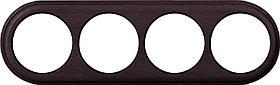 Рамка Werkel Legend на 4 поста венге WL15-frame-04 4690389117275