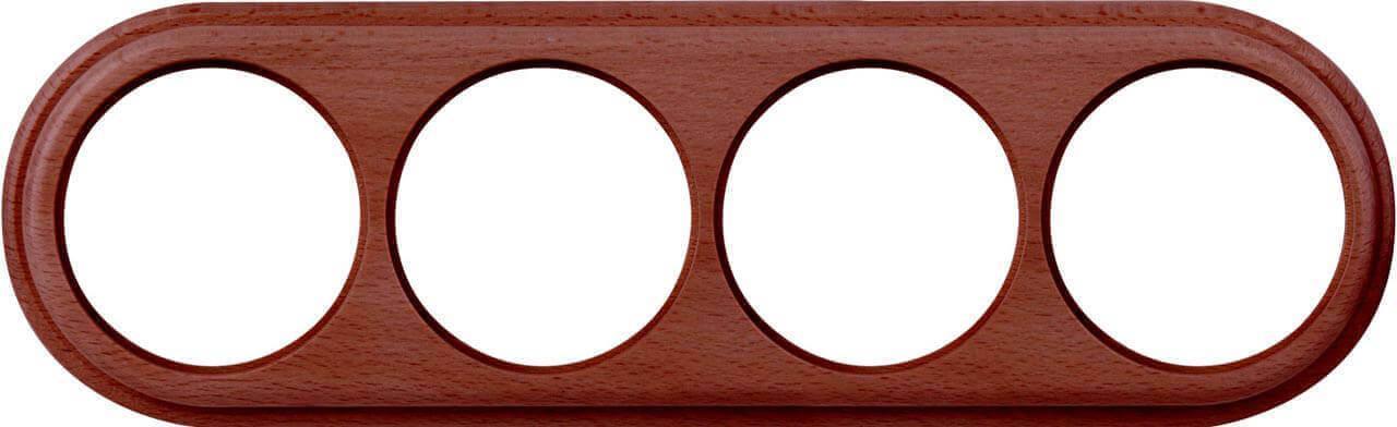 Рамка Werkel Legend на 4 поста итальянский орех WL15-frame-04 4690389117282