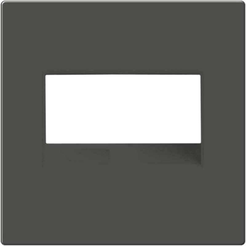 Рамка Werkel для двойной розетки Еthernet RJ-45 серо-коричневый WL07-RJ45+RJ45-CP 4690389119583