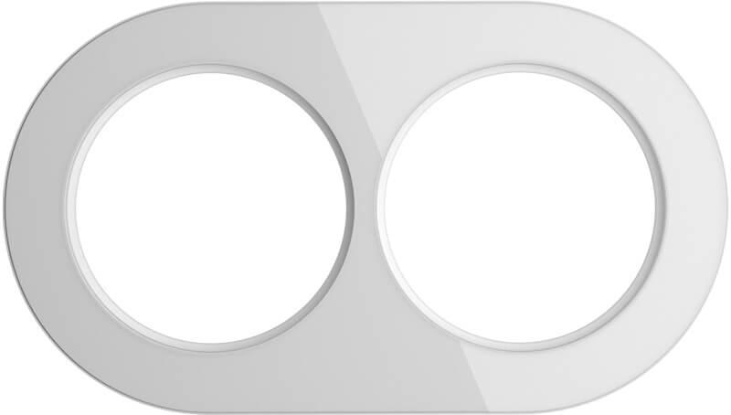 Рамка Werkel Favorit Runda на 2 поста белый WL21-Frame-01 4690389141959