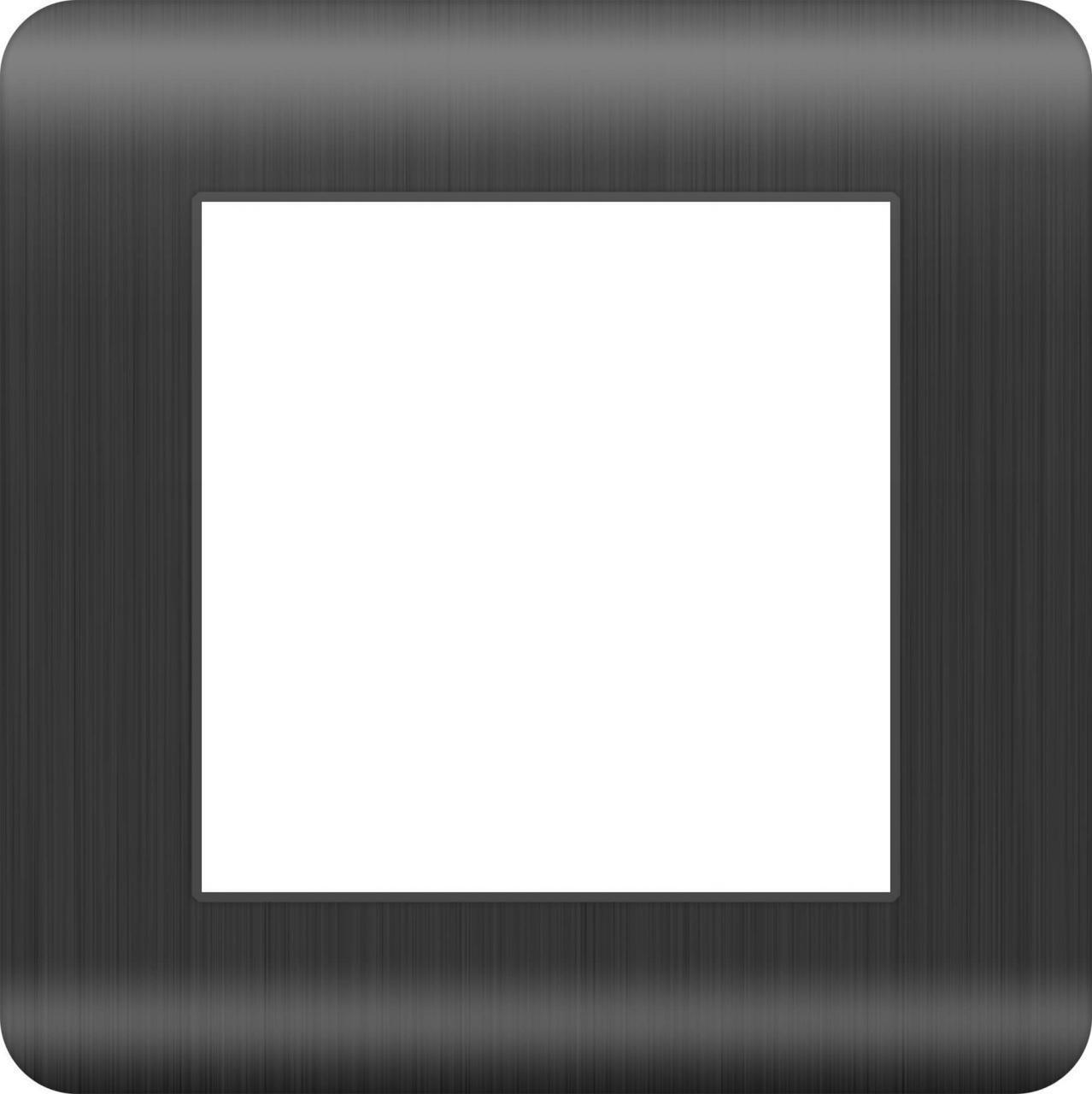 Рамка Werkel Stream на 1 пост графит WL12-Frame-01 4690389145421