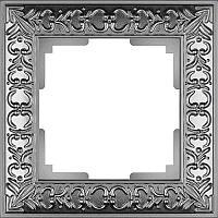 Рамка Werkel Antik на 1 пост матовый хром WL07-Frame-01 4690389145667