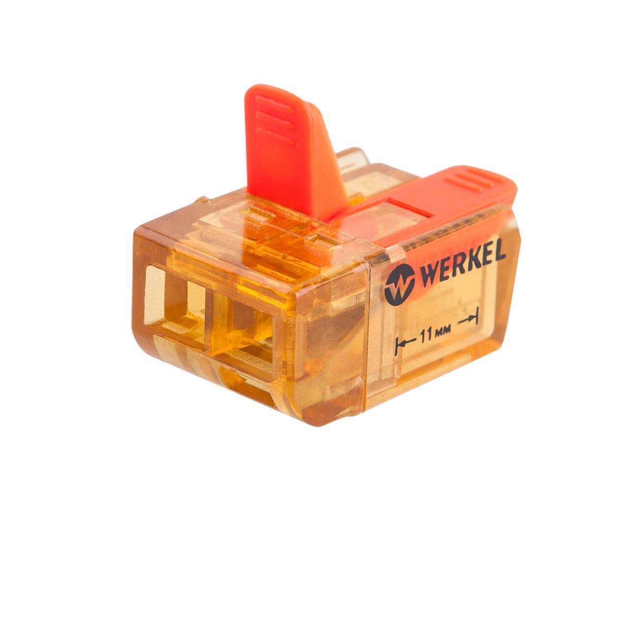 Клемма соединительная Werkel 3-проводная 5 шт TR-02-02 14690389107358