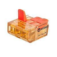 Клемма соединительная Werkel 3-проводная 5 шт TR-02-03 14690389107365