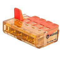 Клемма соединительная Werkel 5-проводная 5 шт TR-02-05 14690389107372