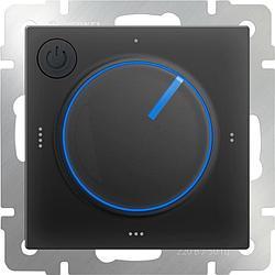 Терморегулятор электромеханический для теплого пола Werkel WL08-40-01 черный 4690389132704