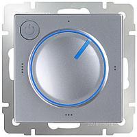 Терморегулятор электромеханический для теплого пола Werkel серебряный WL06-40-01 4690389132681