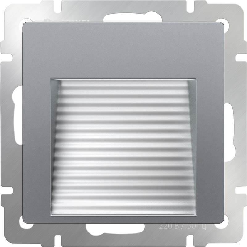 Встраиваемая LED подсветка Werkel серебряный WL06-BL-02-LED 4690389143755